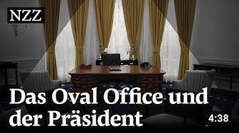 Oval Office im Weissen Haus: Was die Einrichtung über den US-Präsidenten verrät