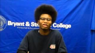 Bryant & Stratton College Share the Love - Will W.