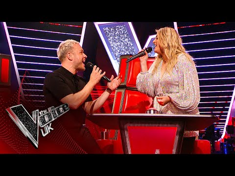Meghan Trainor and Olly Murs' Surprise Duet! | Blind Auditio