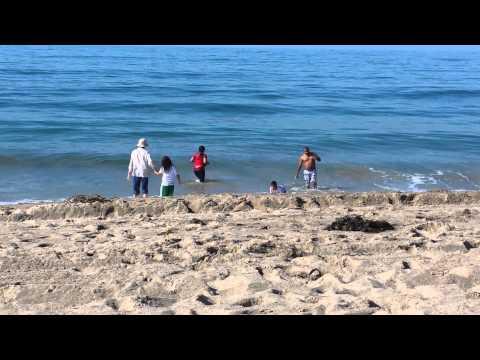 Malibu beach. ..