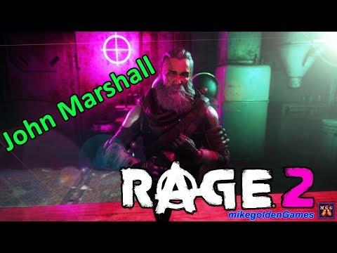 Meeting John Marshall In Gunbarrel (Exploring The Wasteland) | Rage 2 Episode 3