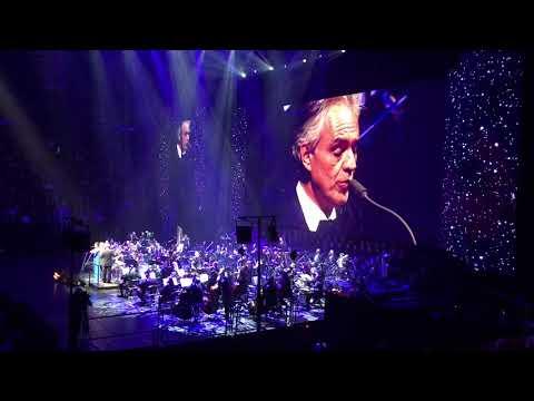 Andrea Bocelli Montreal 2018 - The Prayer