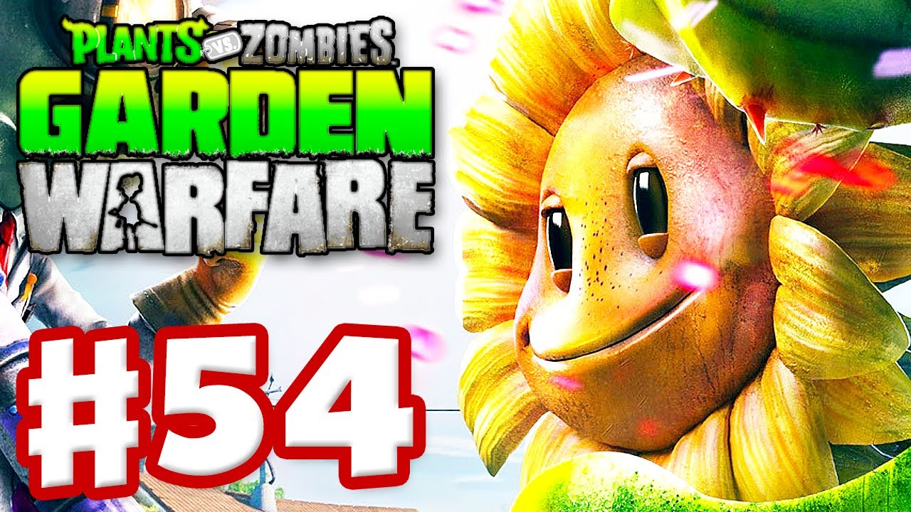 Plants Vs Zombies Garden Warfare Gameplay Walkthrough Part 54 Gardens Graveyards Xbox