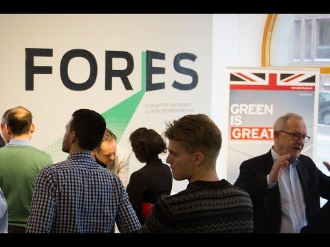 En grön investeringsbank – erfarenheter från Storbritannien och tankar från Sverige