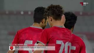 الأهداف | الأهلي 1 - 4 الدحيل | دوري قطر غاز تحت 23 سنة