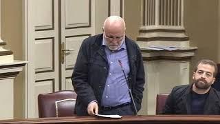 Manolo Marrero (Podemos) demanda recursos para educación y medio ambiente