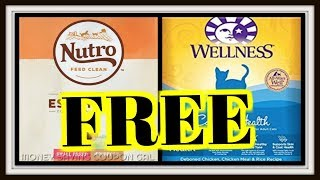 Find Out How Get Free Bags Dog Or Cat Food Petsmart