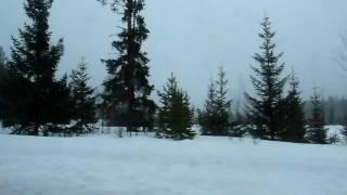 ノルウェー旅行1日目 (2)E12車窓風景.MOV