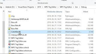 Скачать VB Net MP3 Tag Editor 2018 Updated Version