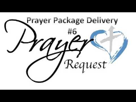 Prayer Package Delivery: #6 (Category: Salvation)