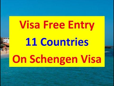 Visa Free Entry of 11 Countries on Schengen Visa