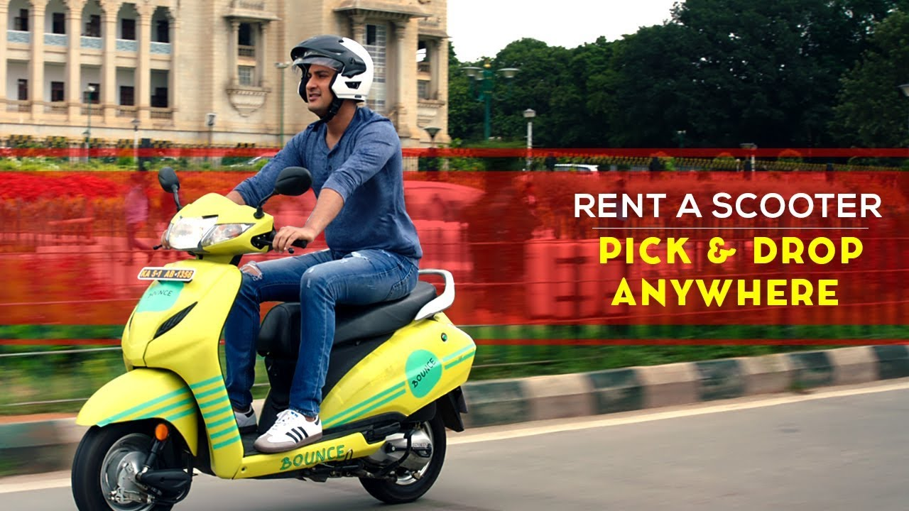 Introducing The New Ride In Town Bounce Keyless Bikes With