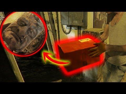 Encuentro una CABEZA en una CAJA | Las cajas misteriosas