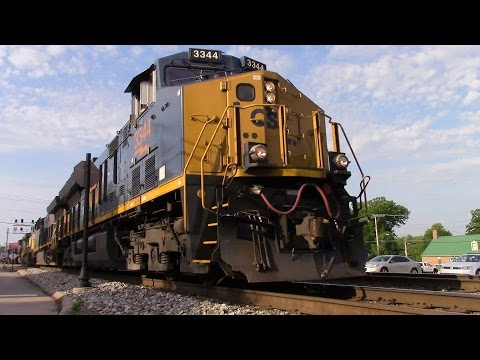 Railfanning The CSX Cincinnati Terminal Division in Glendale, OH on 6-10-16