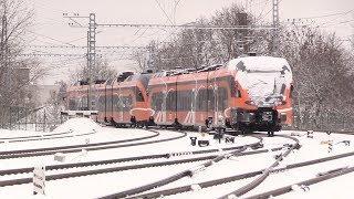 Штадлерский электропоезд жібереді қалпына келтіру / Stadler EMU being repairs to in Belarus