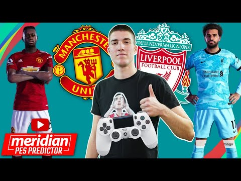 MANCHESTER UNITED vs LIVERPOOL | Meridian PES Predictor #55 |  @Beki ​