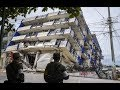 اخطر  كارثة في العالم  زلزال المكسيك مشاهد لا تصدق سبحان الله