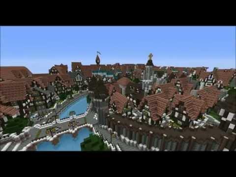 Minecraft Medieval City Download [Full-Download] Mediev...