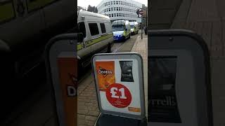 Sheffield United escorted on tram by police