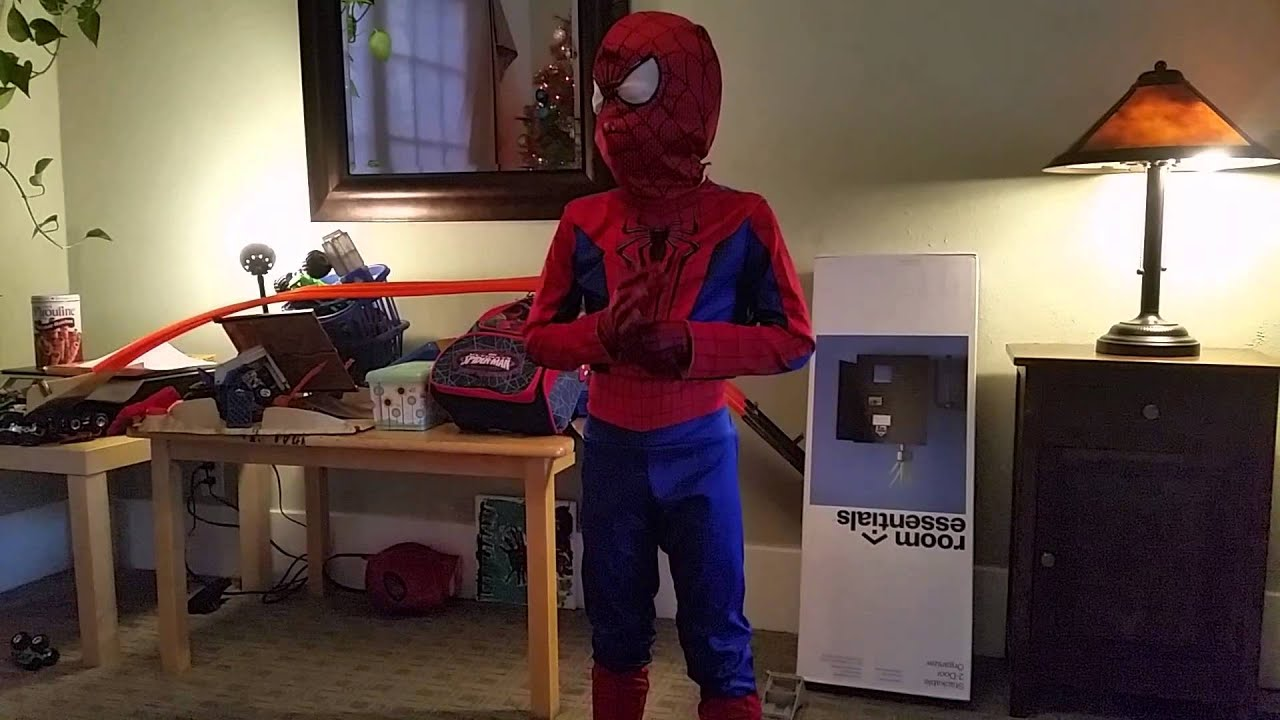 Spiderman costume and black spiderman costume & Spiderman costume and black spiderman costume - YouTube