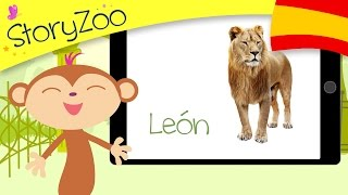 Zoo animals • Childrens First Words • Spanish