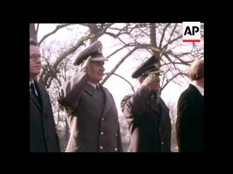 IRISH STATE VISIT TO WEST GERMANY - COLOUR