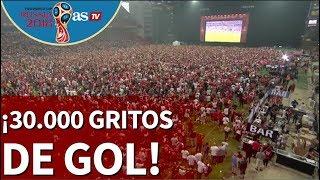 Mundial 2018 |¡Impresionante! 30.000 daneses celebran el gol del Perú-Dinamarca |Diario AS
