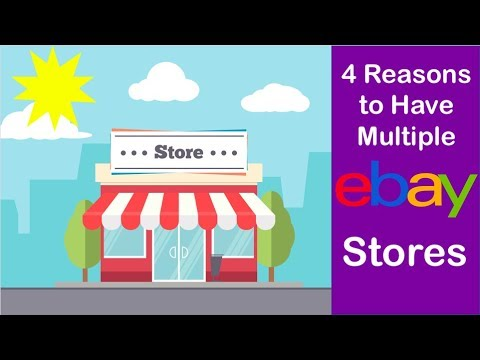 4 Reasons to Have Multiple eBay Stores