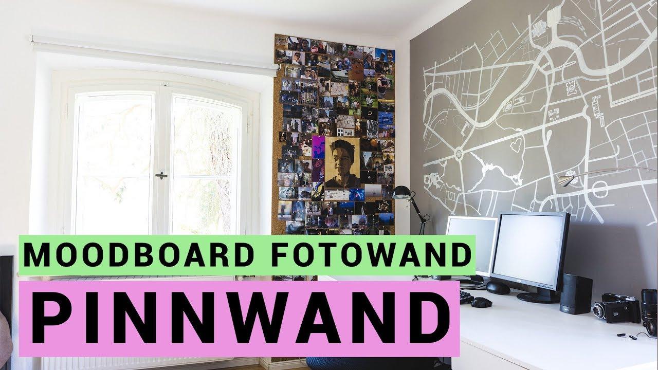 Pinterest foto wall out of cork youtube - Pinterest fotowand ...