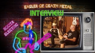Jesse Hughes Boots Electric Interview, Super Troopers 3, Eagles of Death Metal New Album and More!! YouTube Videos