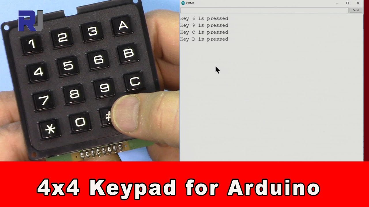 Collectibles Police 4 X 4 Array 16 Keys 4*4 Switch Keypad