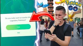 TRANSFERRING LEGENDARY POKÉMON FOR THE FIRST TIME EVER IN POKÉMON GO!