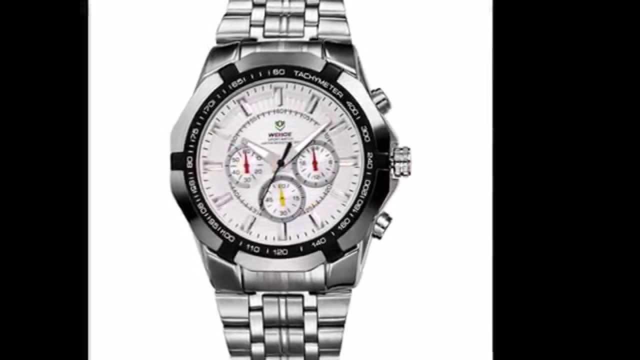 e9c5a27ea8c6 Relojes AliExpress hombre  El relojes de Hombres cuarzo Weide más vendido  en ALiExpress. - YouTube