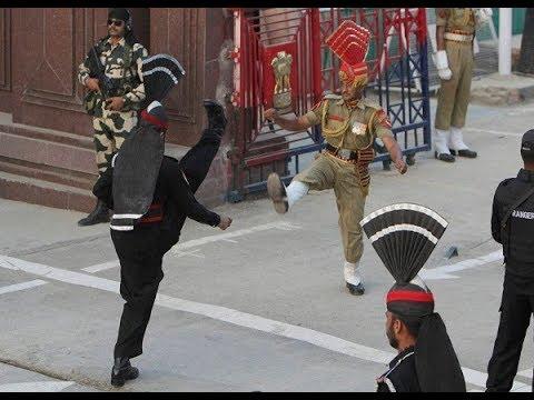 वाघा बॉर्डर पर ऐसे भिड़े भारत-पाकिस्तान|Beating the retreat @ Wagah Border on Republic Day Mp3