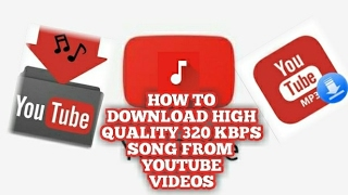 Hey guys its edro tech back with another video on how to download high quality 320 kbps songs(audio) from videos.....its a simple and best tutorial t...
