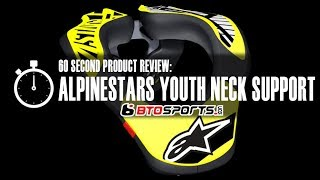 Alpinestars Youth Neck Support Motocross Dirtbike Offroad Youth