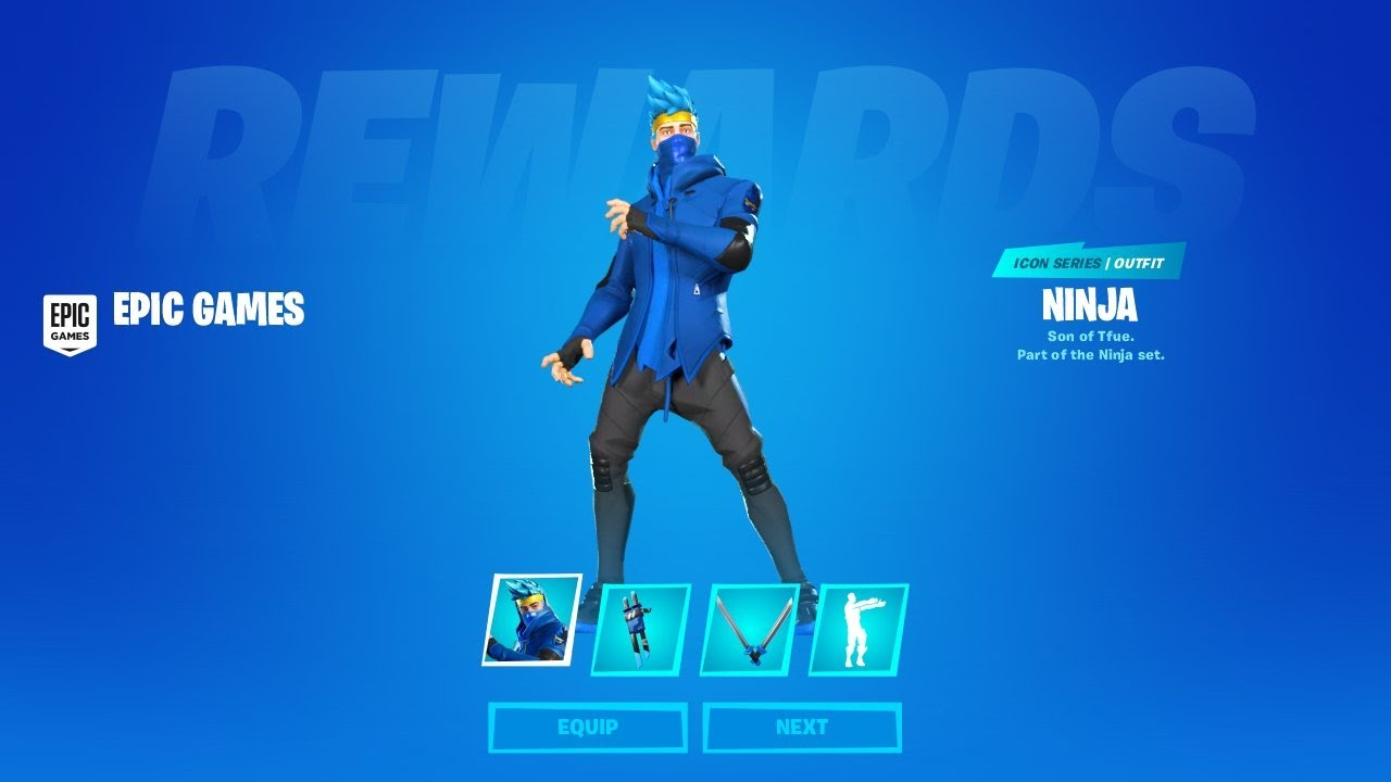 Fortnite Ninja Skin Official Gameplay Youtube We have all of his fortnite merch along with many other skip to content. fortnite ninja skin official gameplay