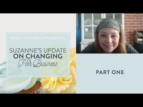 Part 1: Suzanne's update on changing her business - how to start a craft business from home