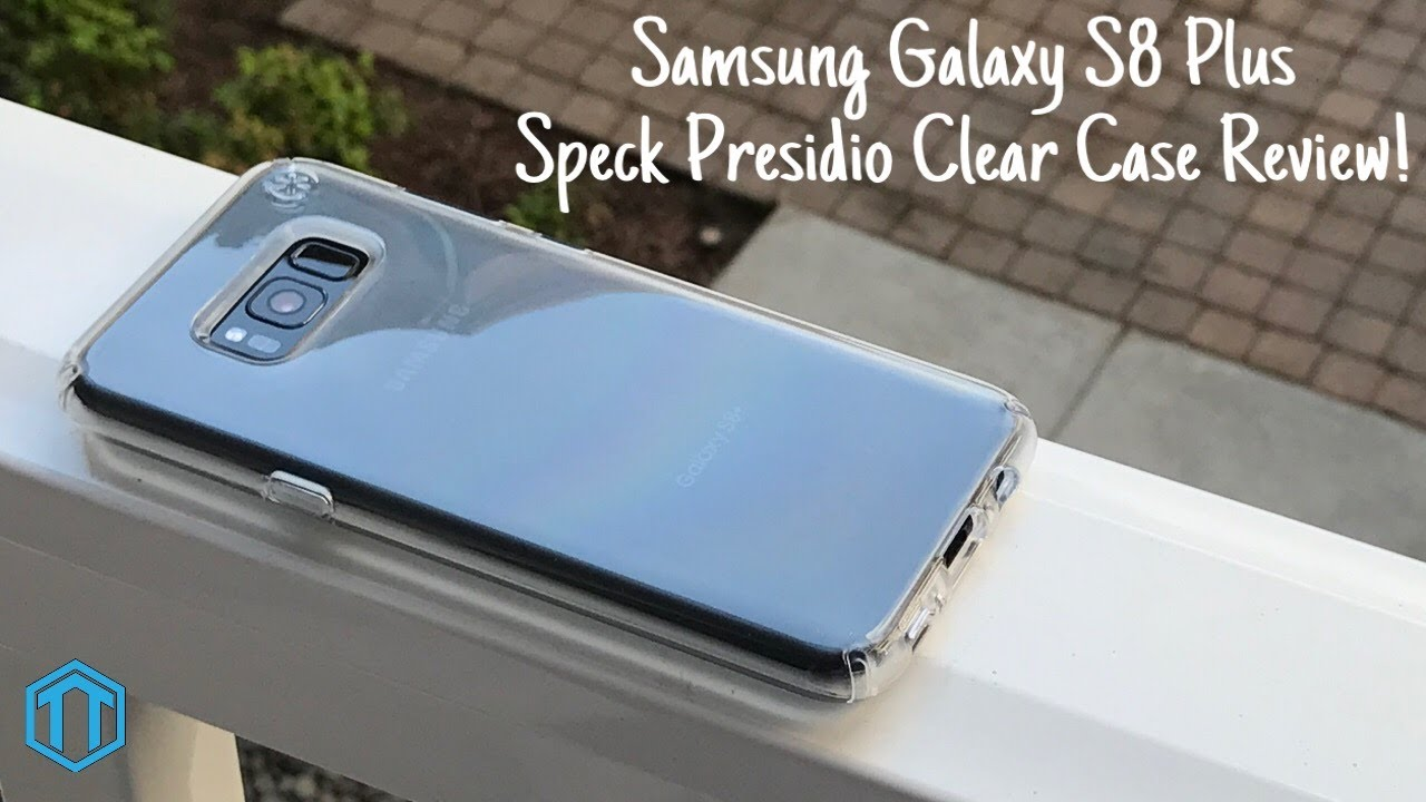 sports shoes f2263 77cb9 Samsung Galaxy S8+ Speck Presidio Clear Case Review!