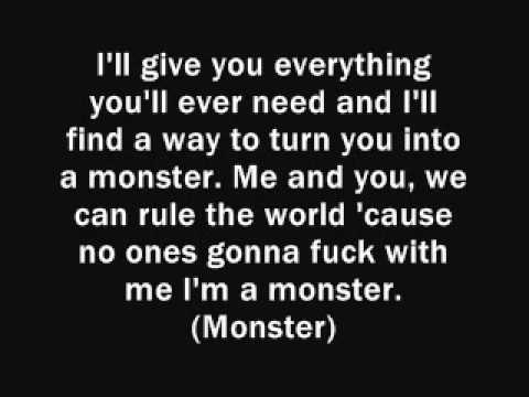 Professor Green - Monster Lyrics