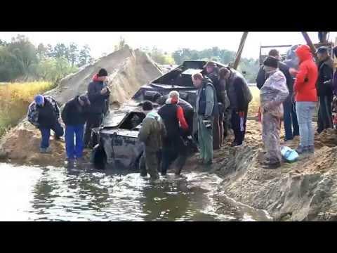 Из Польской речки подняли Sd.Kfz.250 (find Pilica river)