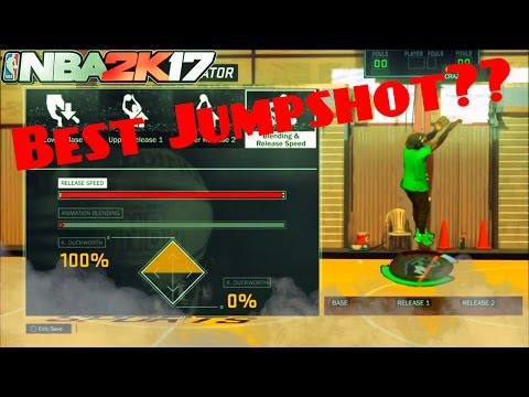 THE BEST JUMPSHOT FOR ALL ARCHETYPES // GREENS ALL DAY ! NBA 2K17 JUMPSHOT TUTORIAL