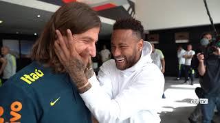 Copa América 2019: NEYMAR visita a SELEÇÃO BRASILEIRA em São Paulo