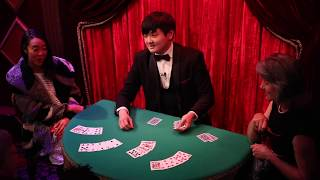 Ed Kwon at the Magic Castle