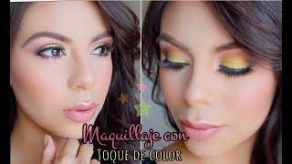 Maquillaje con un Toque de Color - Nena Guzman