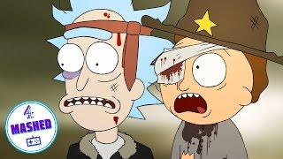 Rick and Morty The Walking Dead Telltale Games
