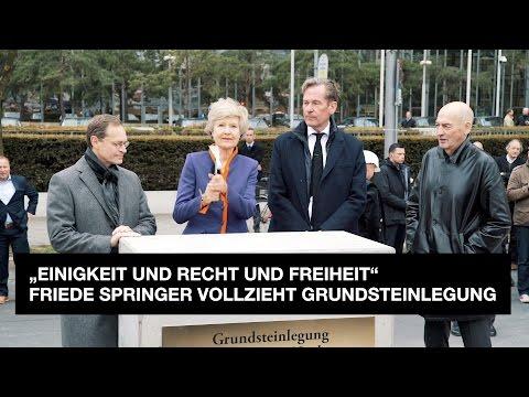 Grundsteinlegung Axel Springer Neubau