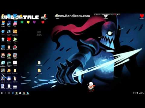 How to make Undertale Shimejis into your desktop!