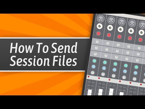 The Best Way For Clients To Send You Their Session Files