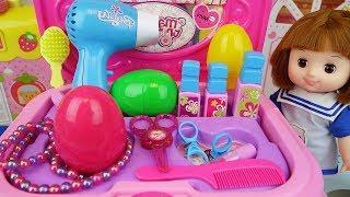Baby doll Beauty box und surprise Eier Spielzeug baby Doli spielen